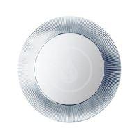 Laufen Kartell Zrcadlo v rámu, průměr 780 mm, stříbrná