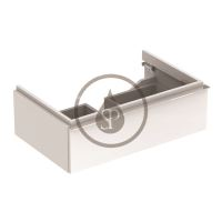 Geberit iCon Skříňka pod umyvadlo, 595x240x477 mm, bílá lesklá