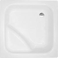 Polysan VISLA hluboká sprchová vanička akrylátová, čtverec 80x80x27cm