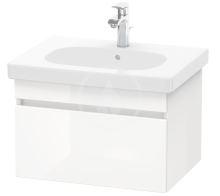 Duravit DuraStyle Umyvadlová skříňka 398x600x453 mm, 1 zásuvka, lesklá bílá