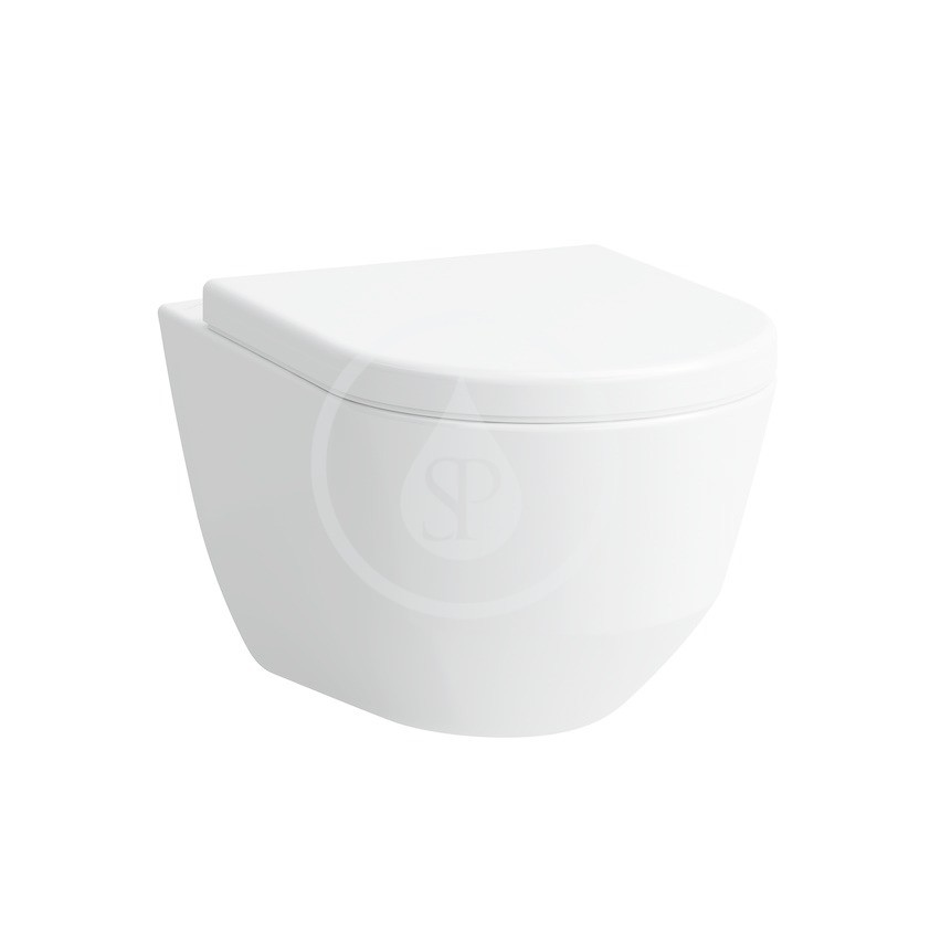 Laufen Pro Závěsné WC, 530x360 mm, s LCC, bílá