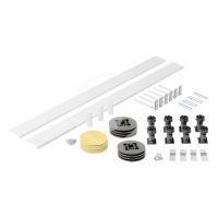 Ideal Standard Simplicity Stone Podpora a čelní panel ke čtvrtkruhové vaničce, univerzální, bílá