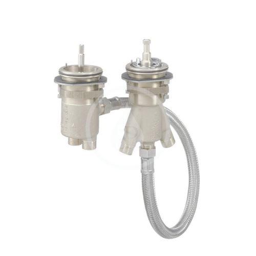 Axor Montážní tělesa Těleso pro dvouotvorový termostat pro montáž na okraj vany
