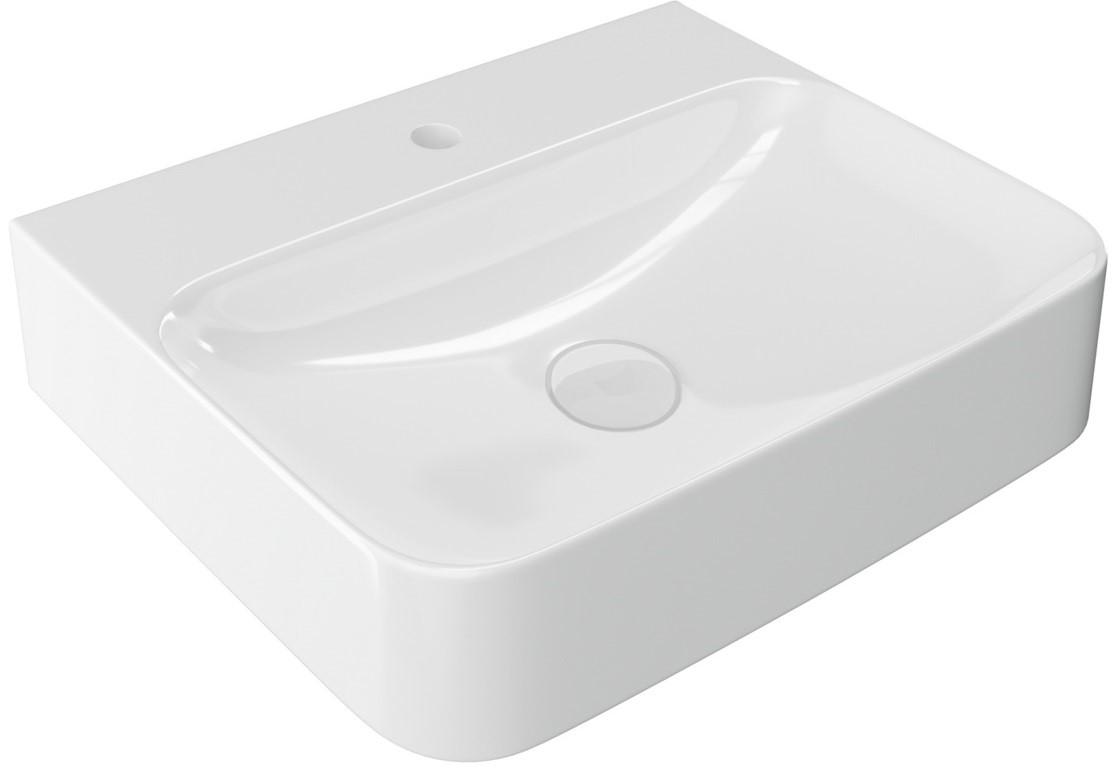 Umyvadlo na desku ORIDO 60X47X13,5 cm bílé