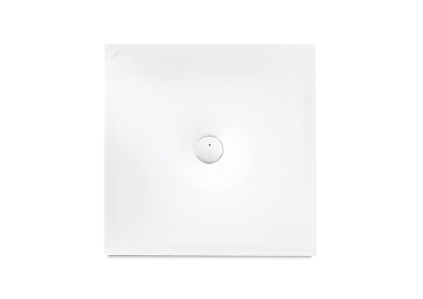 Laufen Indura Sprchová vanička s protihlukovými podložkami, 900x900 mm, matná bílá