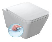 ICON WC mísa závěsná, rimless, 36x55 cm