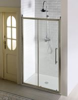 Gelco ANTIQUE sprchové dveře, posuvné, čiré sklo, bronz