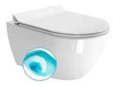 GSI PURA WC závěsné, splachování SWIRLFLUSH, 55x36 cm