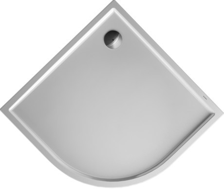 Duravit Starck sprchová vanička Slimline 1000x1000čtvrtkruh