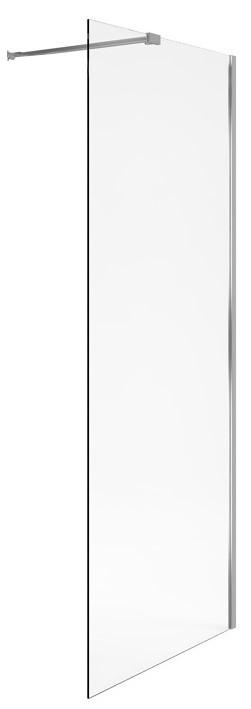 Koupelnová stěna VIDOQ Walk-in 90x200 cm, rovná