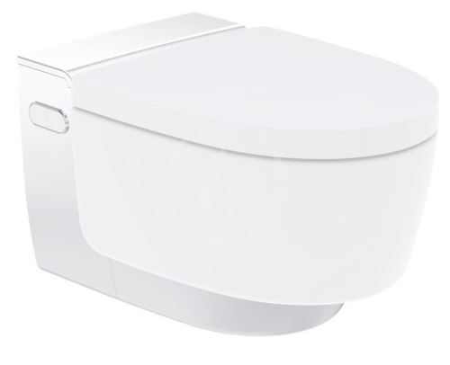 Geberit AquaClean Elektronický bidet Mera Comfort závěsný, SoftClosing, lesklý chrom