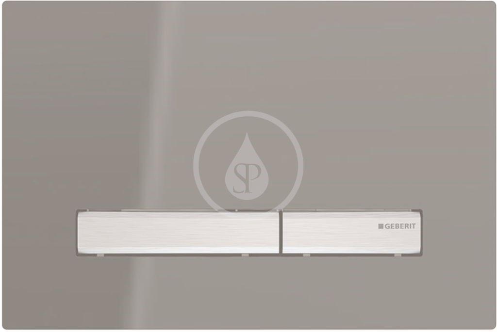 Geberit Sigma50 Ovládací tlačítko Sigma50, kouřové zrcadlové sklo