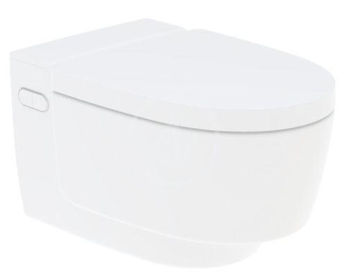 Geberit AquaClean Elektronický bidet Mera Comfort závěsný, SoftClosing, alpská bílá