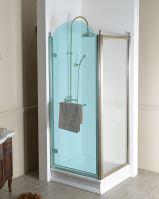 Gelco ANTIQUE boční stěna, ČIRÉ sklo, bronz