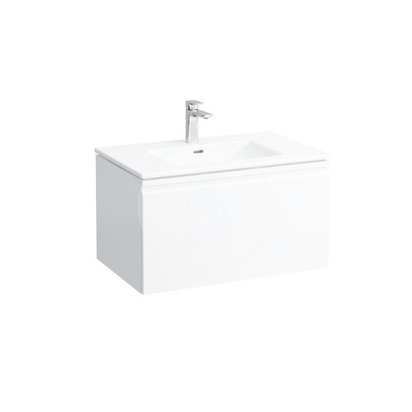 Laufen Pro S Skříňka s umyvadlem, 800x500 mm, 1 zásuvka, lesklá bílá