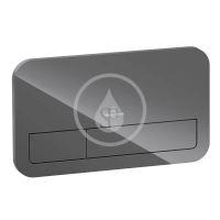 Villeroy & Boch ViConnect Ovládací tlačítko 200G, pro 2 množství splachování, lesklá černá
