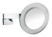 Emco Nástěnné kosmetické zrcátko s LED osvětlením 265 mm s integ. kabelem, 5x