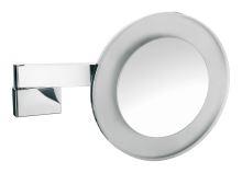 Emco Nástěnné kosmetické zrcátko s LED osvětlením 265 mm s integrovaným kabelem, 3x