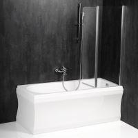 Polysan PALOMA vanová zástěna 900mm, čiré sklo