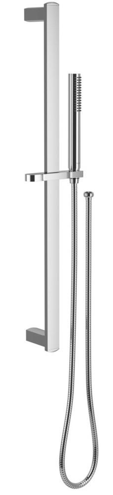Sprchový set Lino s kovovou tyčí, ruční sprcha, hadice, držák