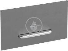 Villeroy & Boch ViConnect Ovládací tlačítko E300, Black Matt/Chrome Matt