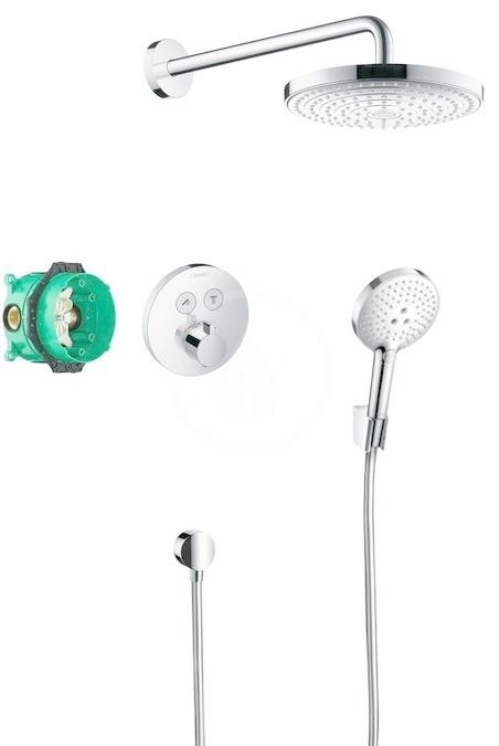 Hansgrohe Raindance Select S Sprchový set 240 s termostatem ShowerSelect S, 2 proudy, chrom