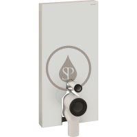 Geberit Monolith Plus Sanitární modul pro stojící WC, 101cm, spodní přívod vody, bílá