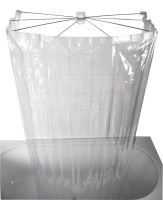 Ridder OMBRELLA skládací sprchová kabina, 100x70cm, průhledná