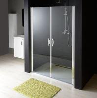 Gelco ONE sprchové dveře do niky dvoukřídlé 1080-1120 mm, čiré sklo, 6 mm