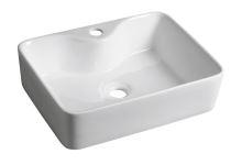 Sapho BALENA keramické umyvadlo 48x13,5x37 cm, na desku