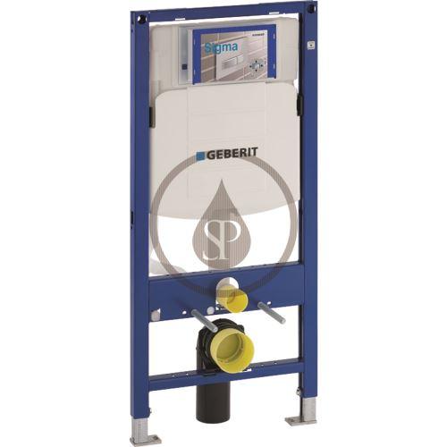 Geberit Duofix Montážní prvek pro závěsné WC, 112 cm, splachovací nádržka pod omítku Sigma 12 cm