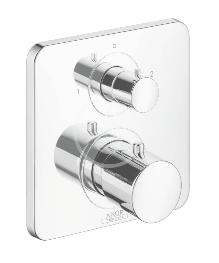 Axor Citterio M Vanová termostatická podomítková baterie, chrom