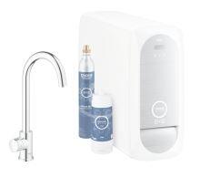 Grohe Blue Home Dřezový ventil Mono Connected, s chladícím zařízením a filtrací, chrom
