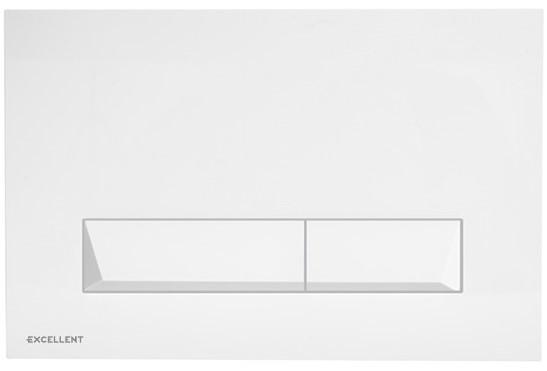 Tlačítko k WC PLATTO bílé