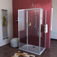 Polysan Lucis Line třístěnný sprchový kout L/P varianta