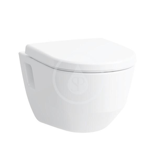 Laufen Pro Závěsné WC, 530x360 mm, Rimless, s LCC, bílá
