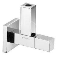 Schell Quad Designový rohový ventil QUAD, chrom
