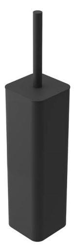 Závěsný WC kartáč Riko černý