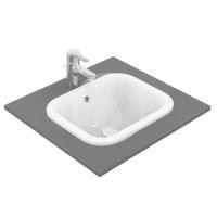 Ideal Standard Connect Umyvadlo zápustné, 420x350 mm, s přepadem, bílá
