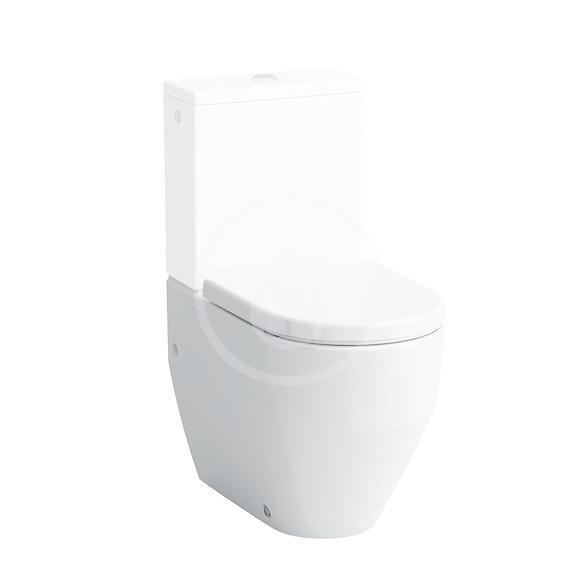 Laufen Pro Stojící WC kombi mísa, 650x360 mm, zadní/spodní odpad, s LCC, bílá