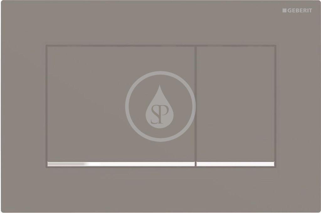 Geberit Sigma30 Ovládací tlačítko Sigma30, černá mat/chrom