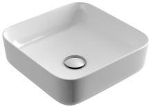 Umyvadlo na desku CORI 38,5X38,5X14 cm bílé