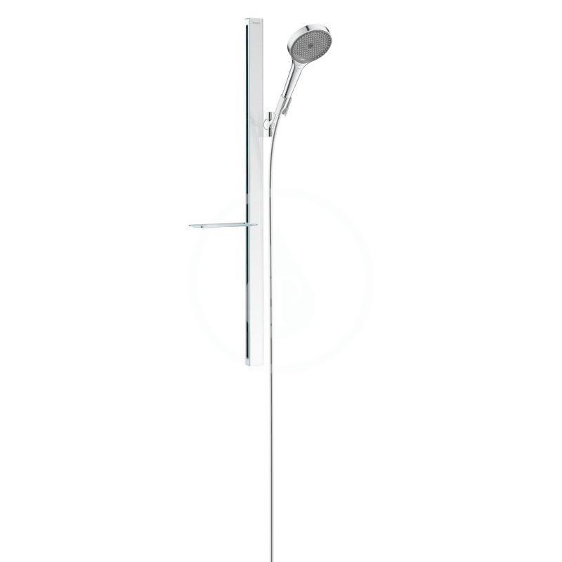 Hansgrohe Rainfinity Sada sprchové hlavice 130, 3jet, tyče 900 mm a hadice, chrom