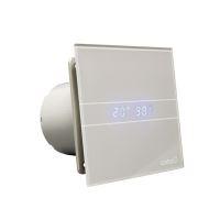Cata E-100 GSTH koupelnový ventilátor axiální s automatem, 8W, potrubí 100mm,stříbrná