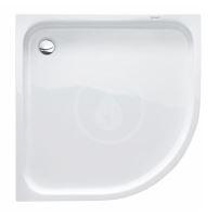 Duravit D-Code Sprchová vanička čtvrtkruhová 900x900 mm, Antislip, alpská bílá