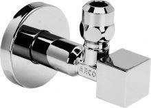 Sapho CUBO rohový ventil Arco 1/2'x3/8' s matkou, chrom