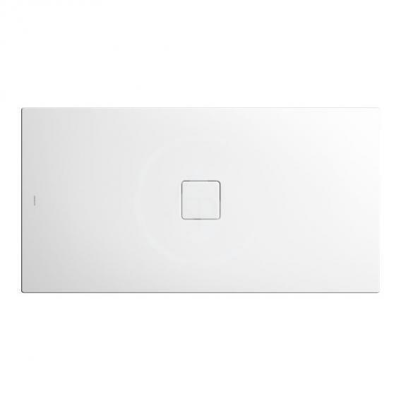 Kaldewei Avantgarde Sprchová vanička Conoflat 780-1, 900x800 mm, celoplošný antislip, Perl-Effekt, bez polystyrénového nosiče, bílá