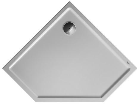 Duravit Starck sprchová vanička Slimline 1000x1000pětiúhelní