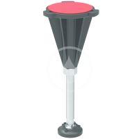 Ideal Standard Ultra Flat S Nohy ke sprchové vaničce, chrom/černá