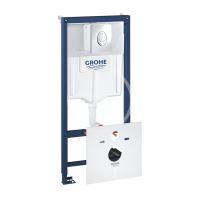 Grohe Rapid SL Předstěnový instalační prvek pro závěsné WC, nádržka GD2, ovládací tlačítko Skate Air, chrom